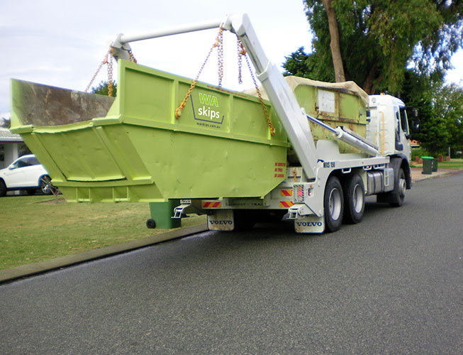 rubbish skips in perth to hire