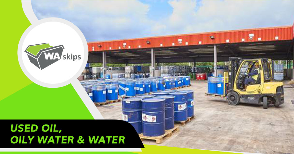 used oil, oily water and water disposal - oil disposal perth - oil waste removal